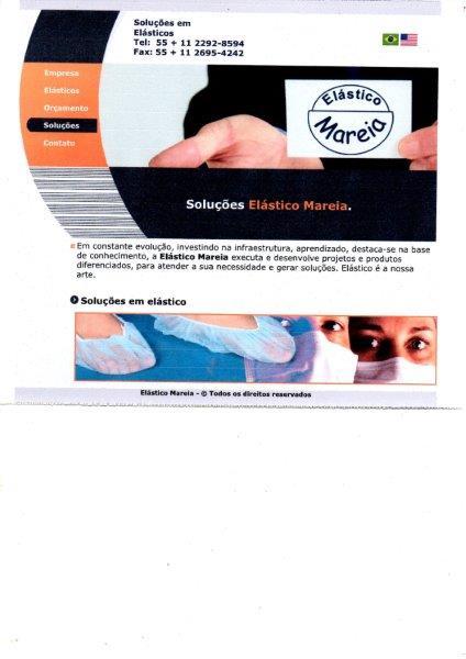 Empresa de elástico para avental