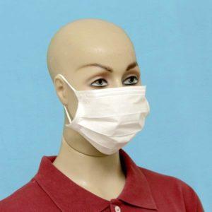 Elástico para máscara descartável tnt